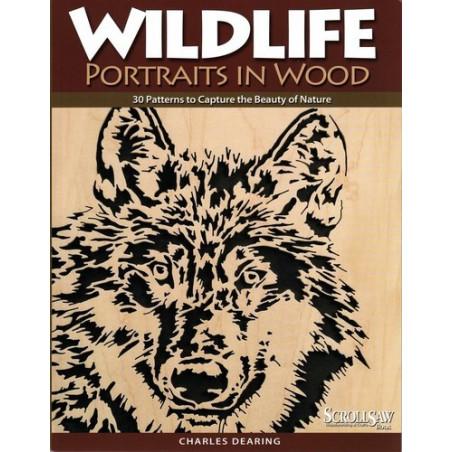 Portraits d'animaux en bois