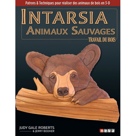 INTARSIA animaux Sauvage en...